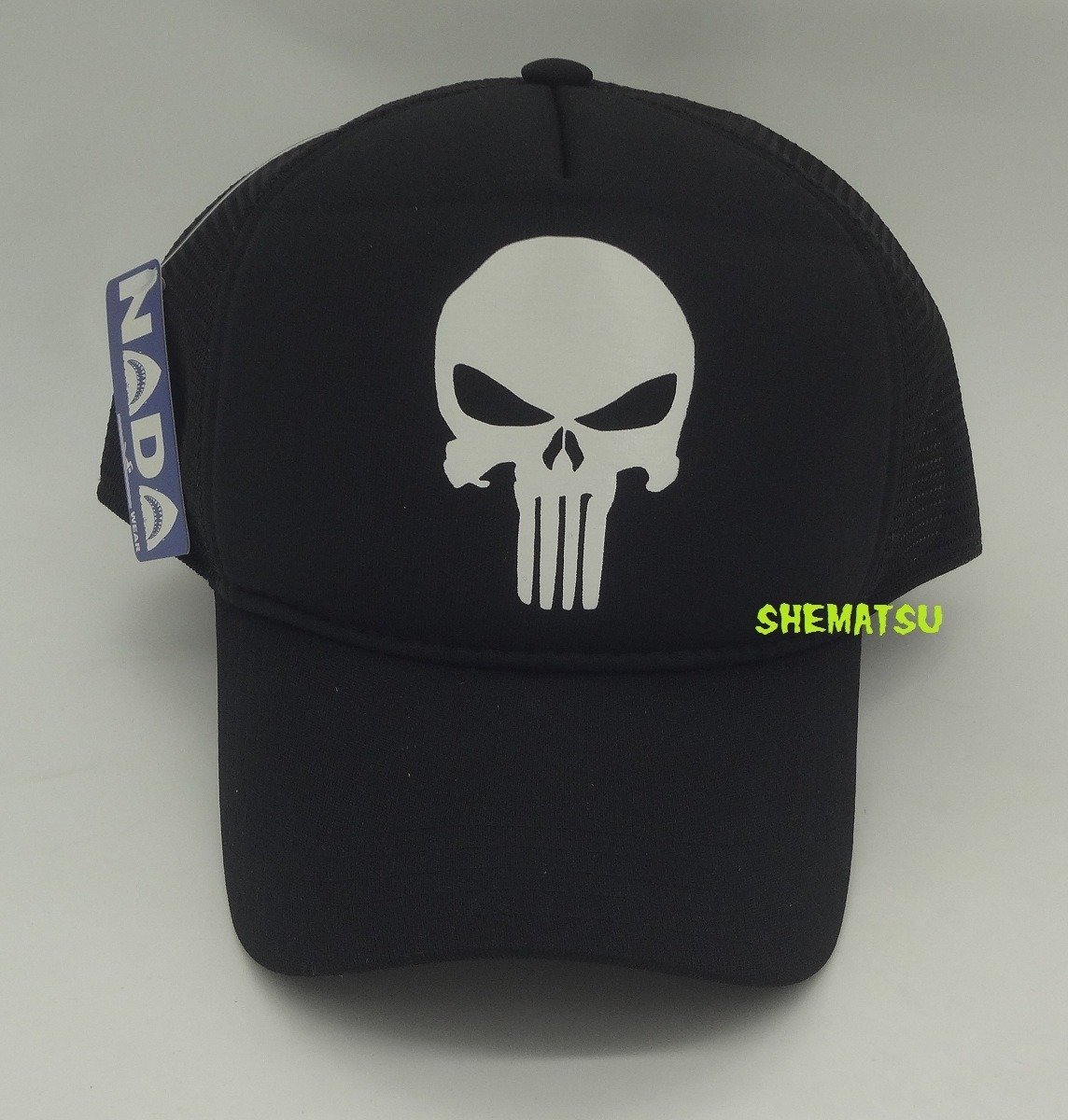 f904447078b4a boné trucker preto silk justiceiro caveira the punisher tela. Carregando  zoom.