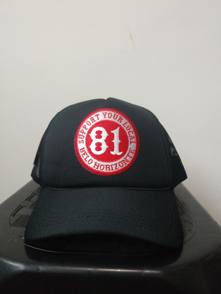 Boné Trucker Support 81 Belo Horizonte - R  60 efdb72bb6bb