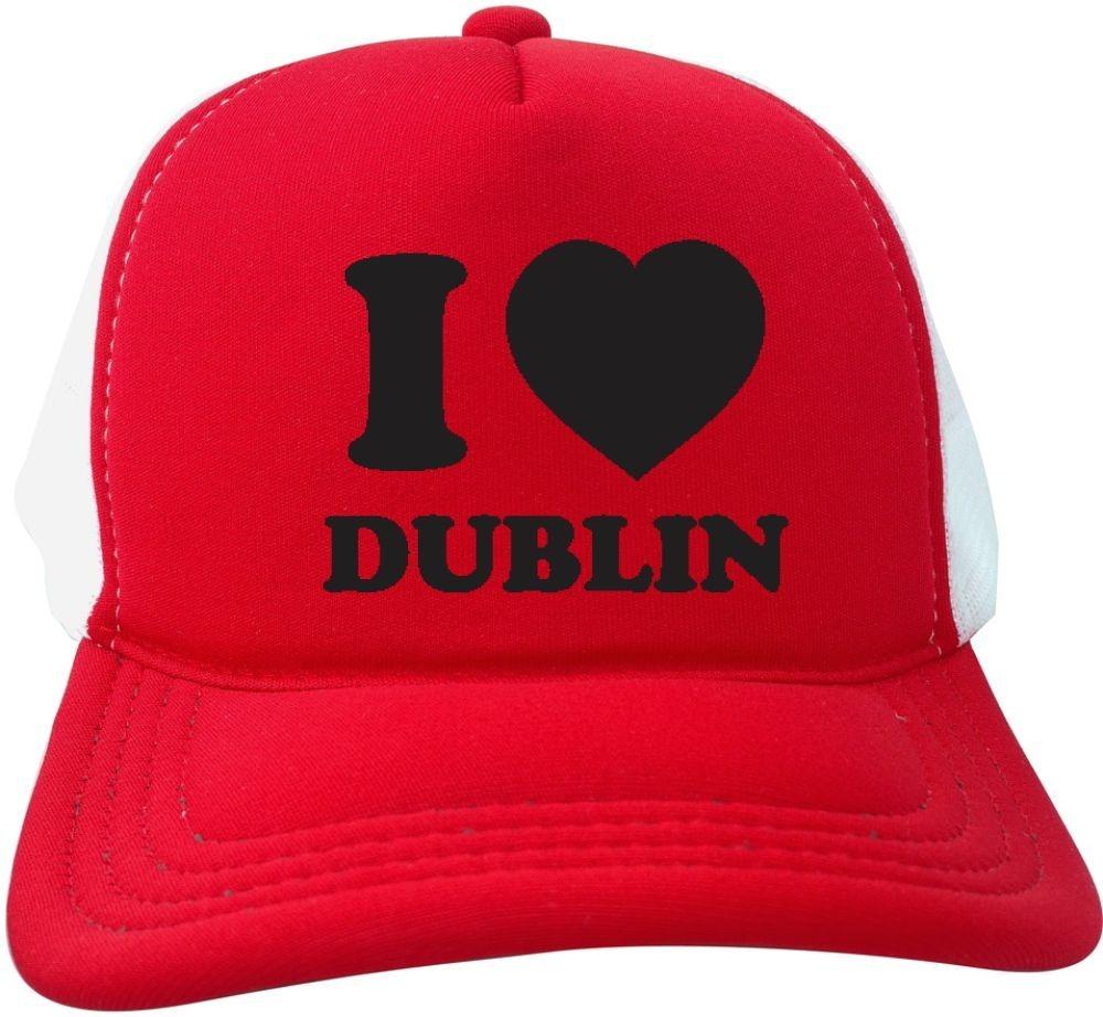 boné trucker tela americano i love dublin irlanda oldschool. Carregando zoom . a3cfc5ca9a7
