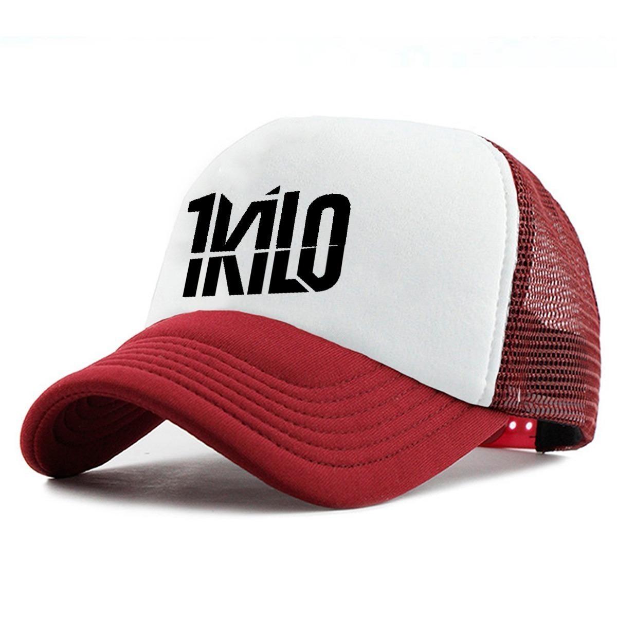 Boné Trucker Telinha 1kilo 1 Kilo Rap Swag Hip Hop Bone Novo - R  33 ... 3e71f2e0b17