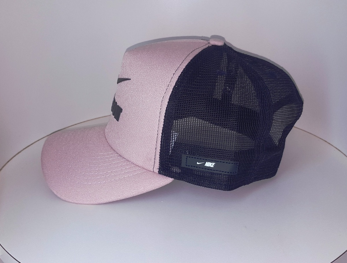 Boné Trucker Telinha Tela Rosa Just Do It Pink Qualidade - R  44 c46d85304fc