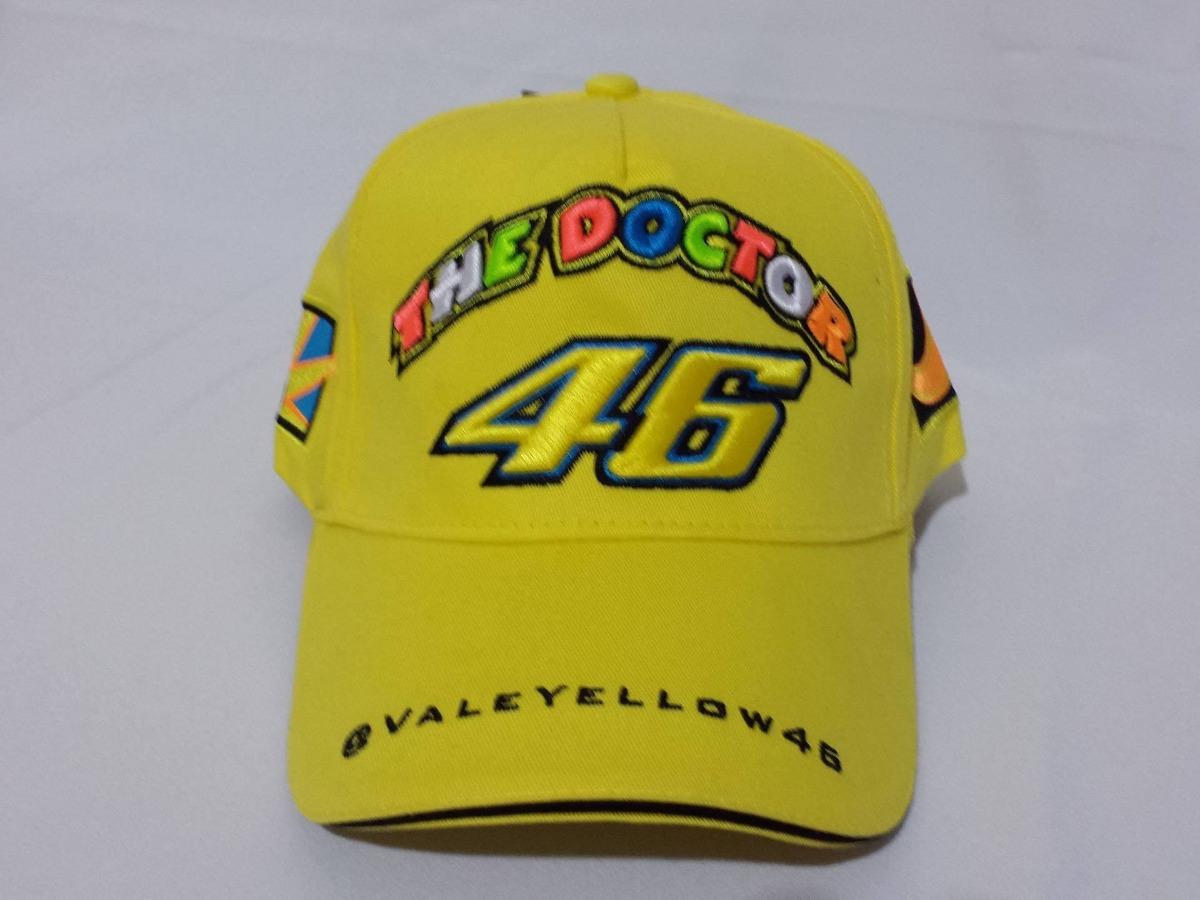 Boné Valentino Rossi Vr46 Oficial Motogp R1 No Brasil - R  109 6f35abd3b44
