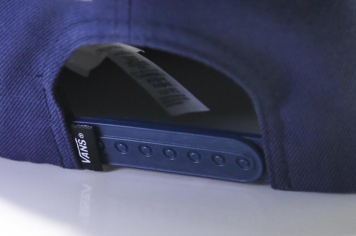 4ce5b5d919b474 boné vans original com etiqueta azul marinho aba reta. Carregando zoom.
