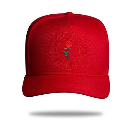 Boné Vermelho Blck Brasil Estilo De Vida Red Snapback - R  110 05d76acfb21