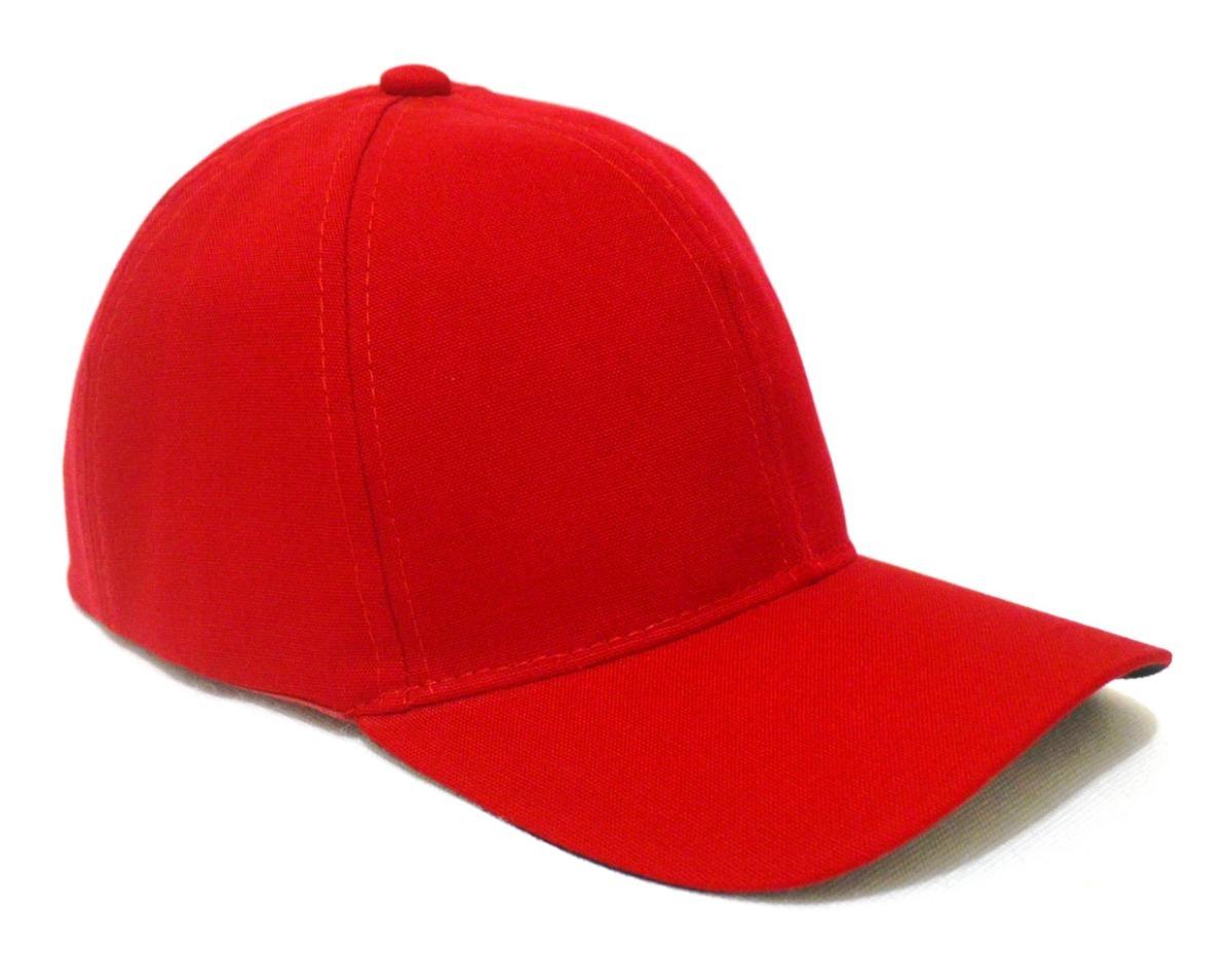 9433cd95f7504 boné vermelho liso unisex sem estampa super leve - aba curva. Carregando  zoom.