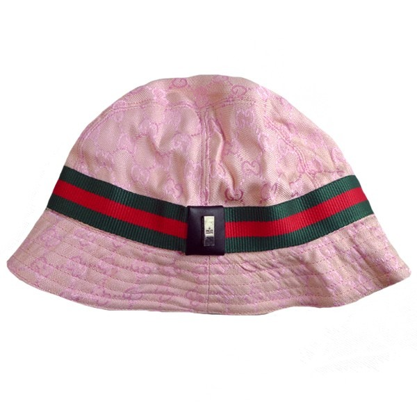 ... boné viseira bucket hat chapéu gucci - rosa - tamanho g factory price  f1ca7 c90b2 ... 0fccae2c773f