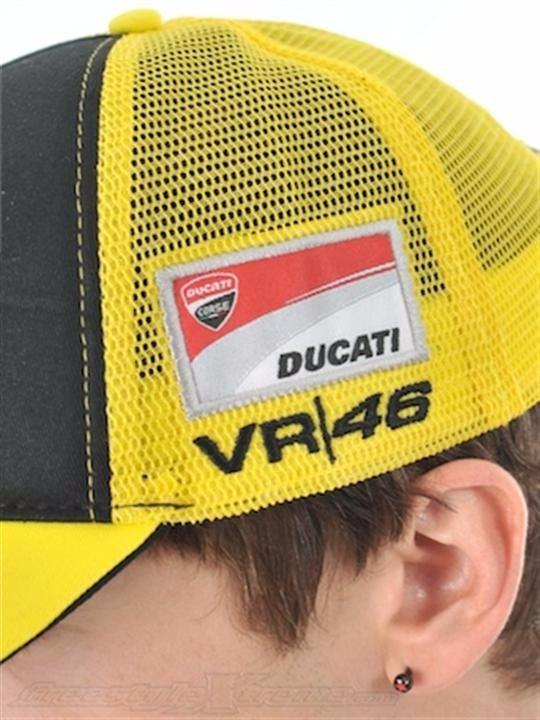 Boné Vr46 Ducati Monster Importado. - R  120 2257ad88638