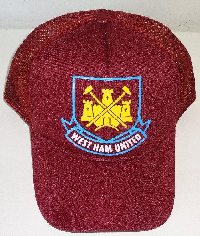 2967951f25d99 Boné West Ham Liga Inglesa Silk Trucker Cap Aba Curva - R  46