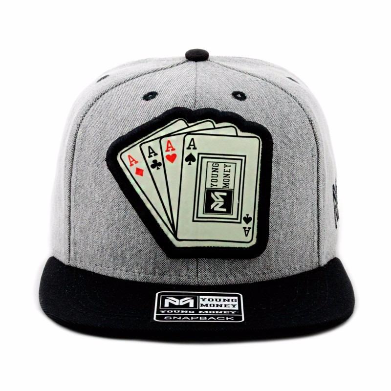 f91d65c871 boné young money aba reta snapback cartas poker original. Carregando zoom.