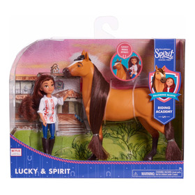 Boneca + Cavalo Lucky & Spirit  Dream Works Collector