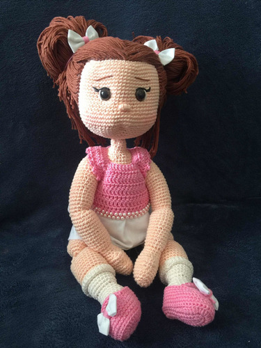 boneca amigurumi (crochê