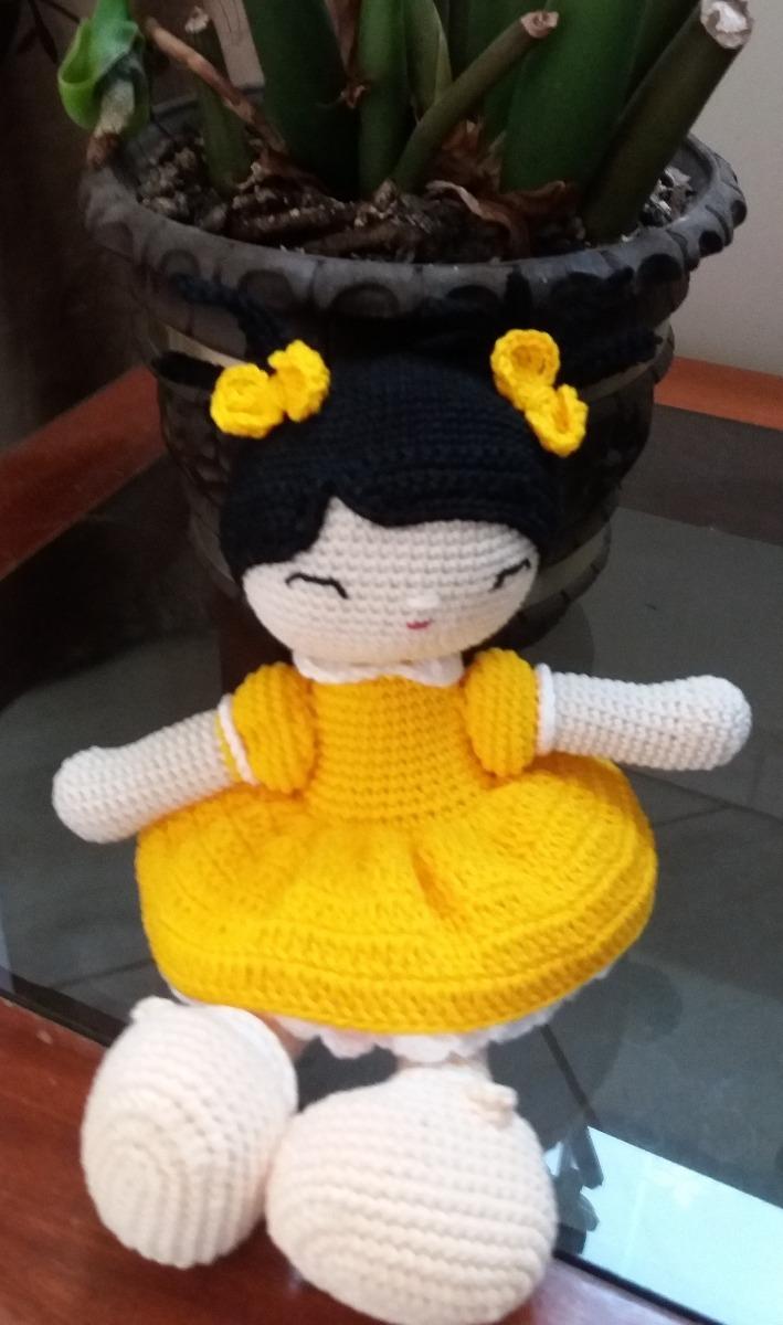Cabelo cacheado para boneca – Amigurumi para iniciantes – Bonek de ... | 1200x709