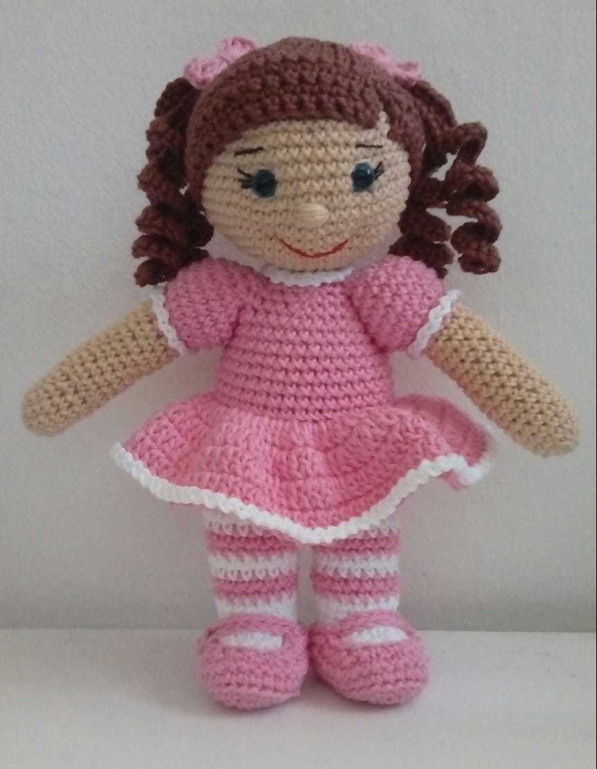 Boneca amigurumi/ boneca crochê no Elo7 | Novelo de ideias Ateliê ... | 1111x862