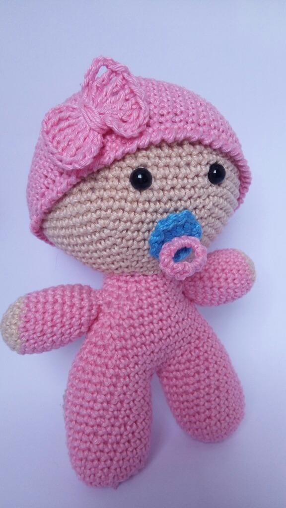 Boneca Amigurumi De Croche, Artesanato, Brinquedo - R$ 139,90 em ... | 1024x576