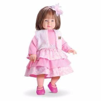 boneca anabelle menina estações + boneca top model divertoys
