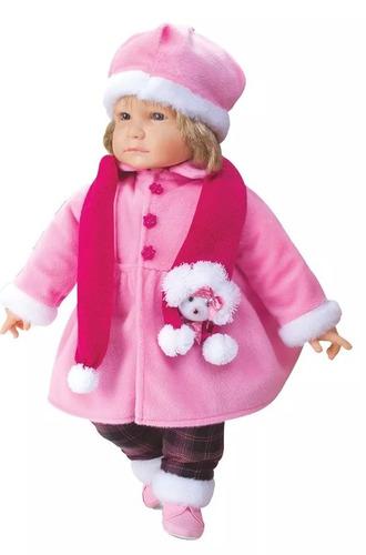 boneca anebelle coleção inverno divertoys