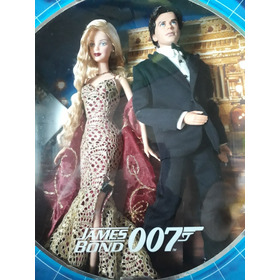 Boneca Antiga Na Caixa Barbie 007 James Bond