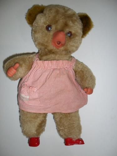 boneca antiga peposa pelúcia anos 80