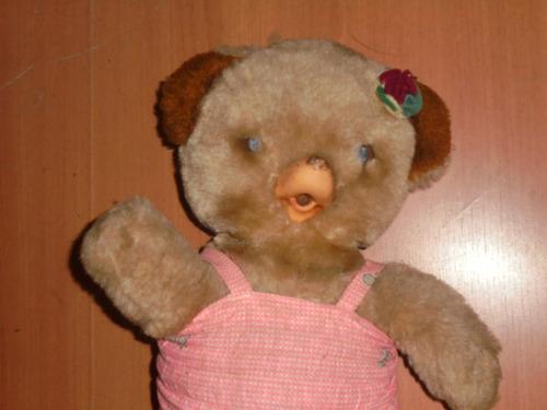 boneca antiga ursa peposa da devir p/ restauração