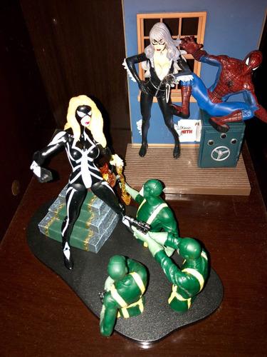 boneca arachne mulher aranha - marvel select