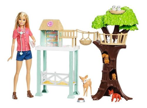 boneca articulada 30 cm - barbie - barbie profissões - cuida