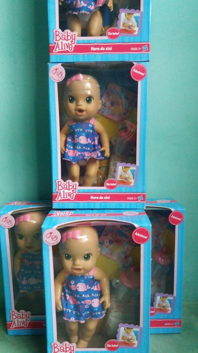 9b00d7b748 ... hora do xixi original hasbro lacrada. Carregando zoom... boneca baby  alive. Carregando zoom.