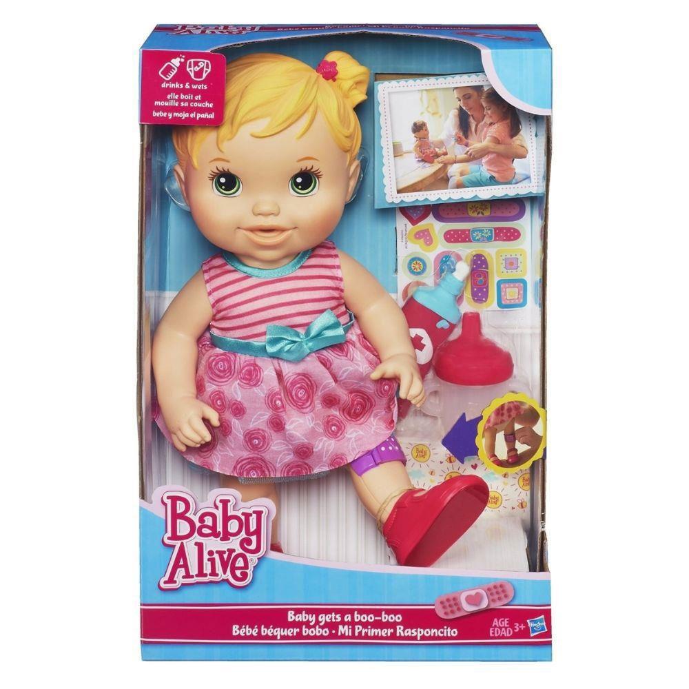 92005e4641 Boneca Baby Alive - Machucadinho - Hasbro - R  119