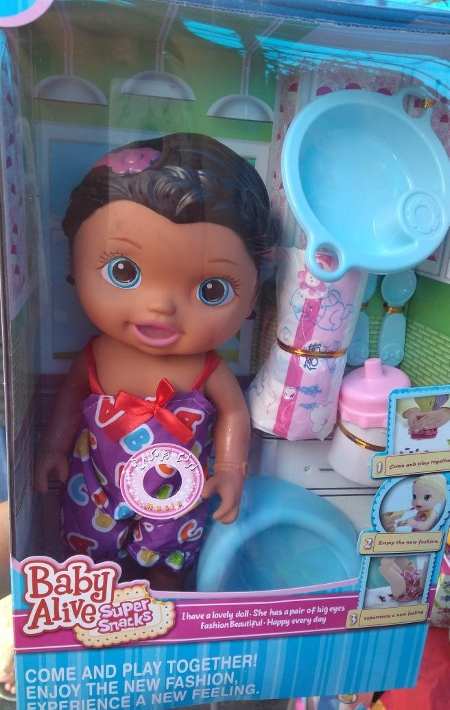 Boneca Baby Alive Comilona, (pronta Entrega, Envio ...