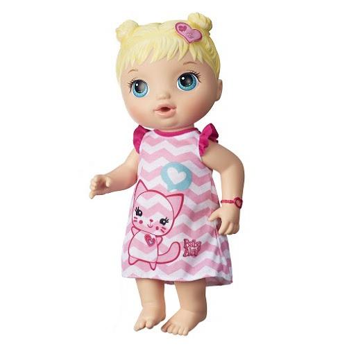 Boneca Baby Alive Cuida De Mim Loira Hasbro Bebe Alive R