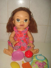 69f5bf612b Baby Alive Comilona Morena Bonecas E Acessorios - Brinquedos e ...