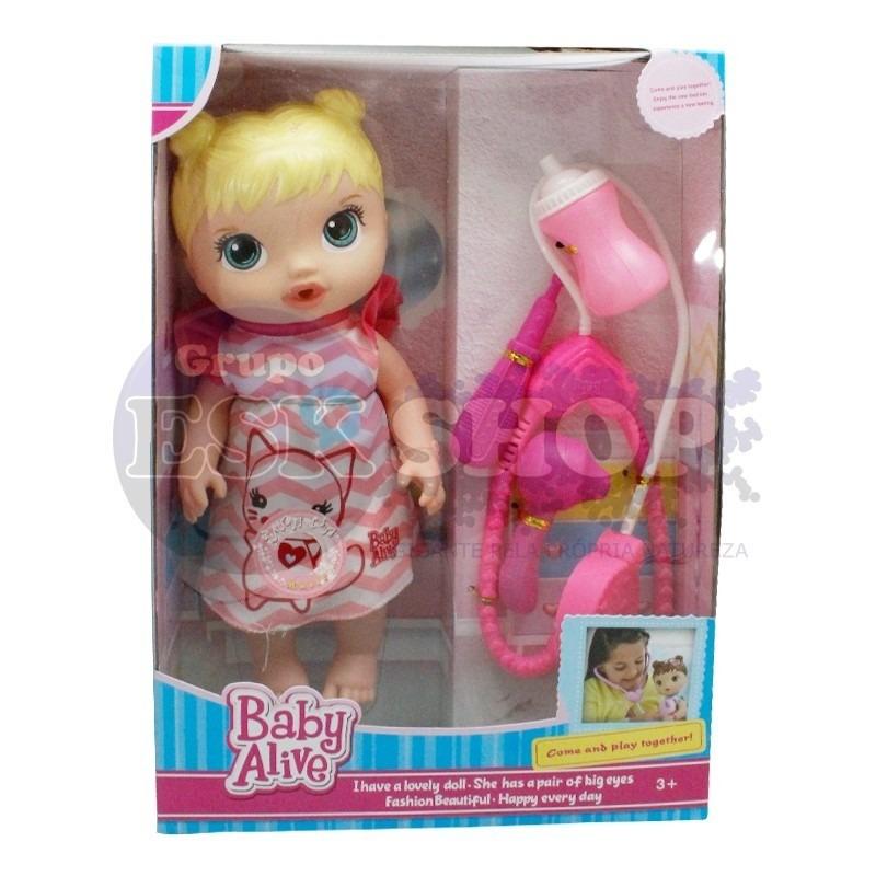 d8e4d30f9b boneca baby alive cuida de mim 30cm. Carregando zoom.