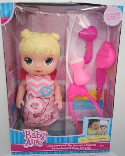 1234fddaa6 Boneca Baby Alive Cuida De Mim 30cm - R  81