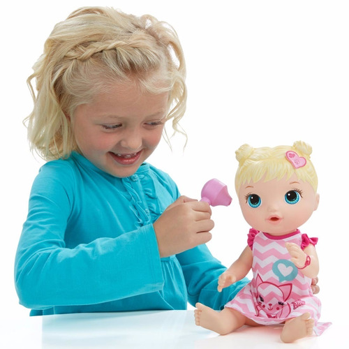 Boneca Baby Alive Cuida De Mim Loira Hasbro R 199 99 Em