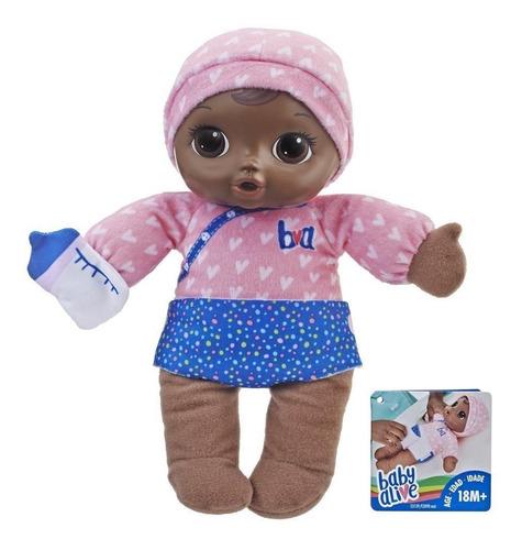 boneca baby alive dorme bebê negra - hasbro e3090