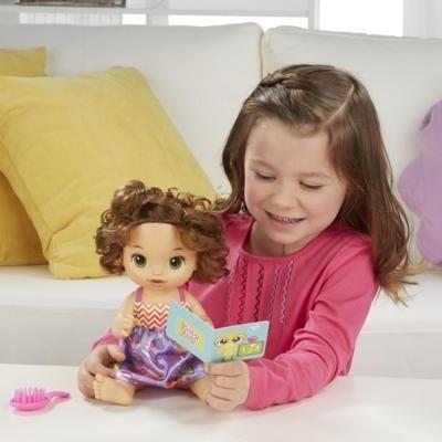 60ab2b0ce8 Boneca Baby Alive Escolinha Morena - Hasbro - R  297