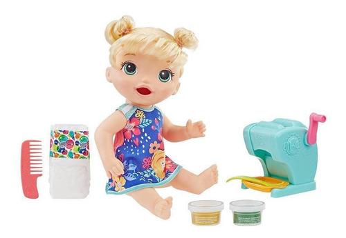 boneca baby alive festa das massas - loira