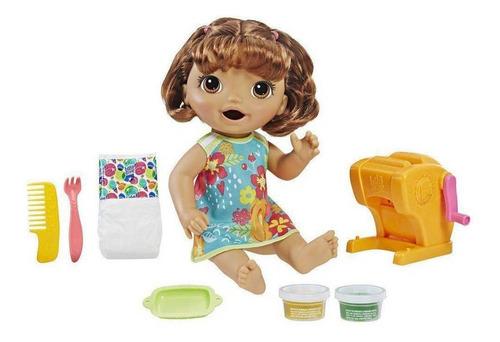 boneca baby alive festa das massas - morena