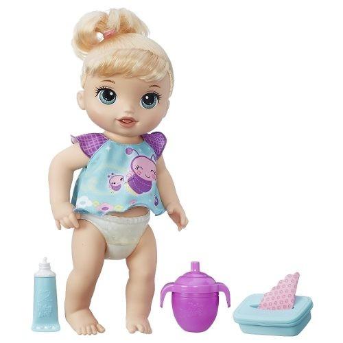 6fac03ecef Boneca Baby Alive Fraldinha Mágica Loira 20 Frases - Hasbro - R  259 ...