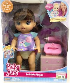 ca9670ad0e Papinha E Fraldinha Para Baby Alive - Brinquedos e Hobbies no Mercado Livre  Brasil