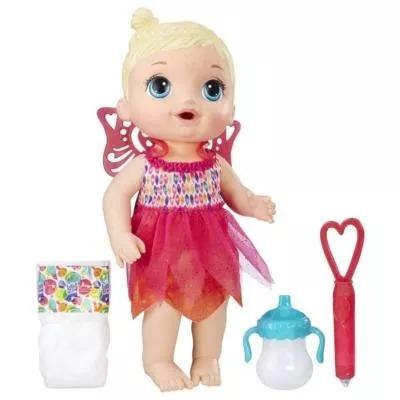 boneca baby alive hora da festa loira - b9723 hasbro