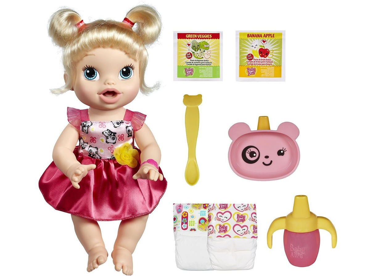 Baby Alive Real As Can Be Baby: Realistic Blonde Baby Doll, 80+ Lifelike Expressions, Movements & Real Baby Sounds, With Doll Accessories, Toy for Girls and Boys 3 and Up by Baby Alive .