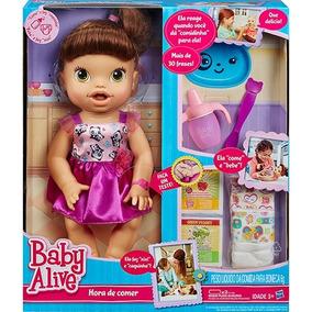 03222c1499 Baby Alive Antiga. Hora De. Comer no Mercado Livre Brasil