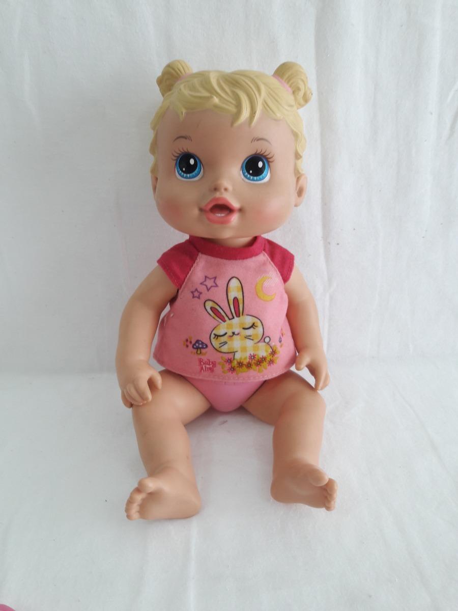cf9a8ba093 boneca baby alive hora de dormir original usada coleção. Carregando zoom.