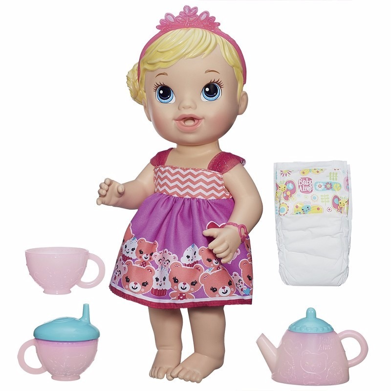 588d22b8f2 boneca baby alive hora do chá hasbro loira troca fralda. Carregando zoom.