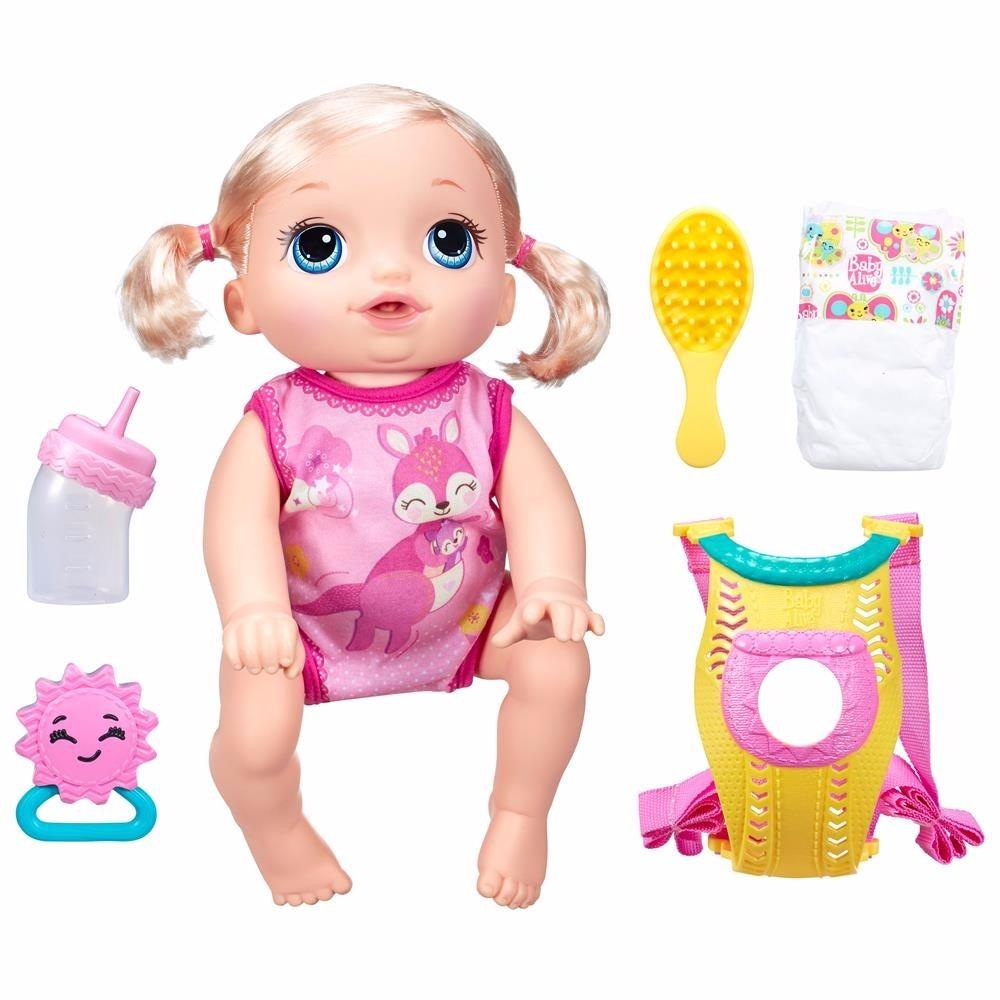 Boneca Baby Alive Hora Do Passeio Engatinha Fala Portugu 234 S