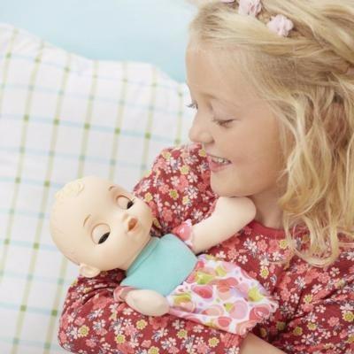 boneca baby alive hora do sono loira - fecha os olhos hasbro
