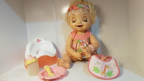boneca baby alive hora do troninho