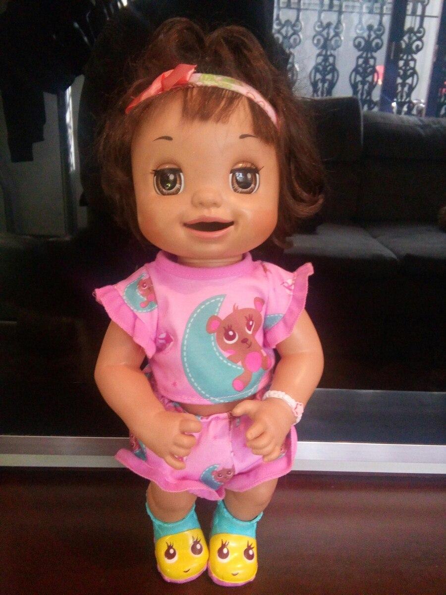 Boneca Baby Alive Hora Do Troninho Morena Fala Portugues