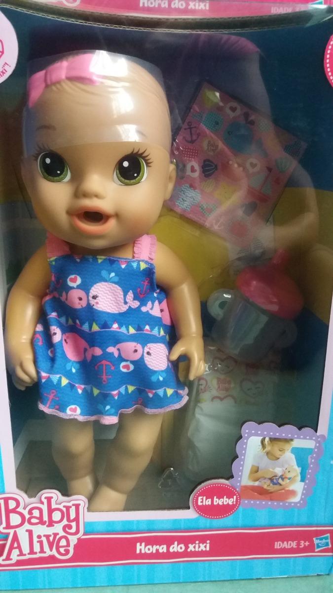 981ea4ff8d boneca baby alive hora do xixi original hasbro lacrada. Carregando zoom.