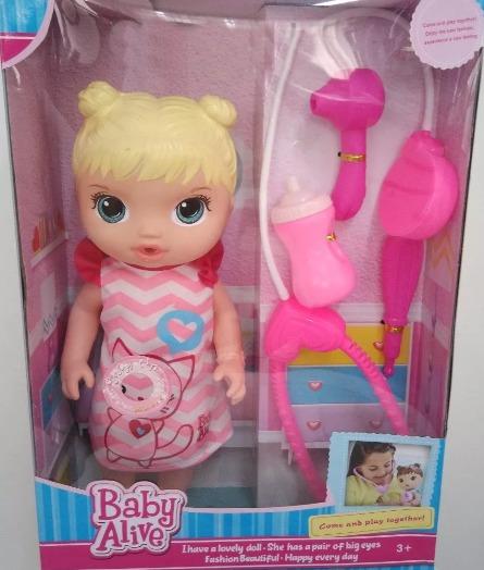 Boneca Baby Alive Imita 231 227 O Cuida De Mim Importada R 69